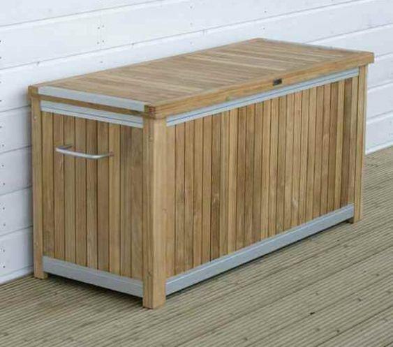 Opbergbox voor tuinkussens   Bergerveste   tuin   Pinterest