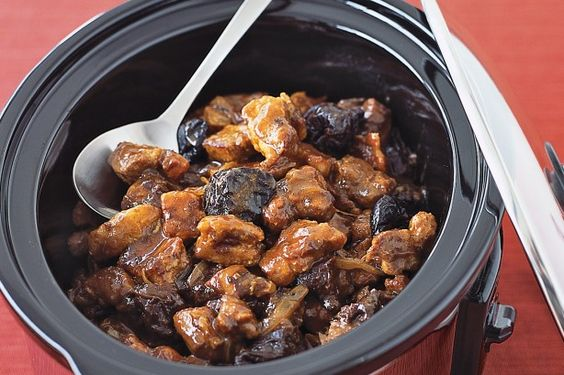 This pork casserole recipe has been designed to be cooked in a slow cooker, although instructions are also given for cooking in the oven or stove top.