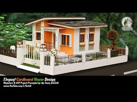 Making A Dream House From Cardboard Home Design Diy Project By The Team Suliai Youtube Cardboard House Sims House Design Home Projects