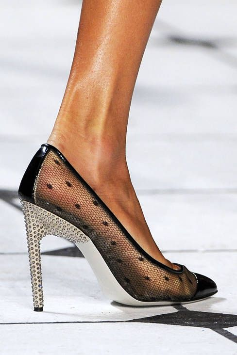 Jason Wu gets sexy with his spring 2013 heels #fashionweek #NYFW