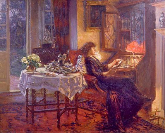 Victorian British Painting: Albert Chevallier Tayler