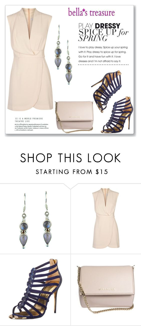 """Bella's Treasure"" by amra-mak ❤ liked on Polyvore featuring Finders Keepers, Ted Baker, Givenchy and bellastreasure"