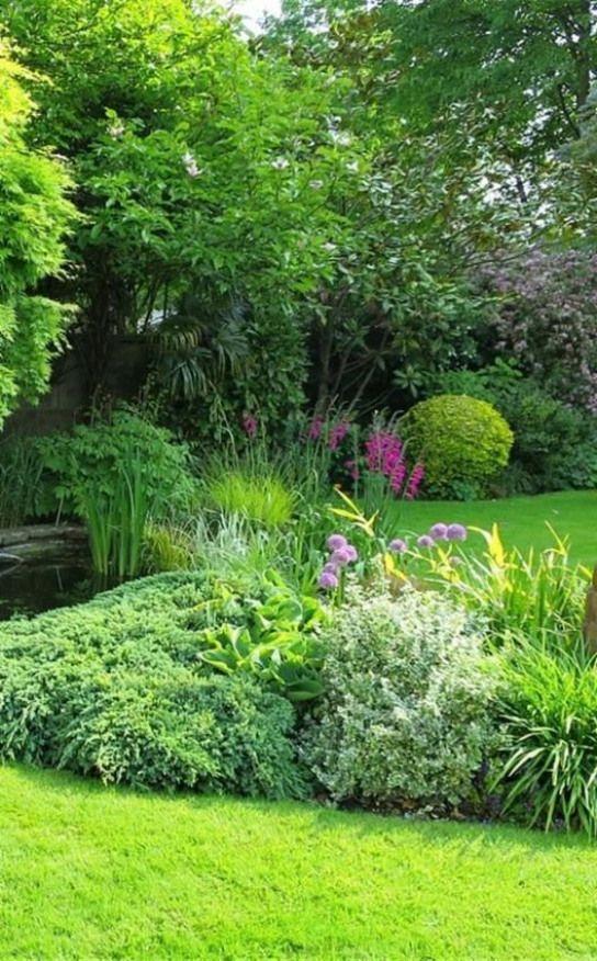 Le Jardin Anglais Fait Rever Car Il Donne L Impression De Laisser
