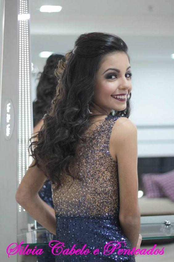 #debutante  #brasil #hair #cabelo #cabeleireira #inspiraçao #beautiful #beauty #beleza #mulher #linda #inspiration #penteados #top #look #hairstylist