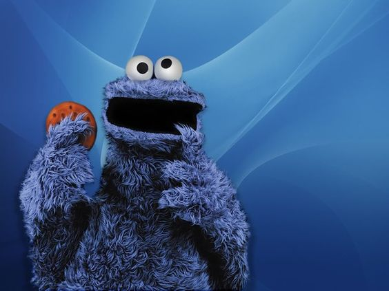 C C C is for COOKIE!  Reminds me of when I was a little girl and watching Cookie Monster - Sigh!