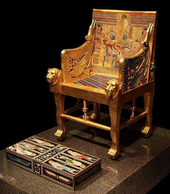 Tutankhamun's throne