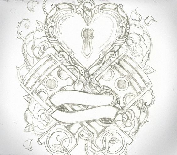 Piston Tattoo Designs ... pic source