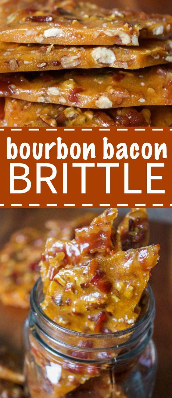 Bourbon Bacon Brittle
