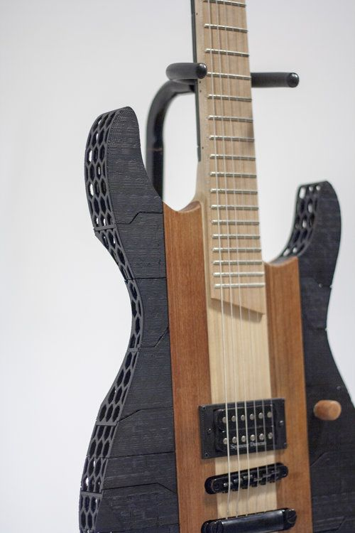 2013 3d Printed Guitar Guitar Prints Custom Guitars