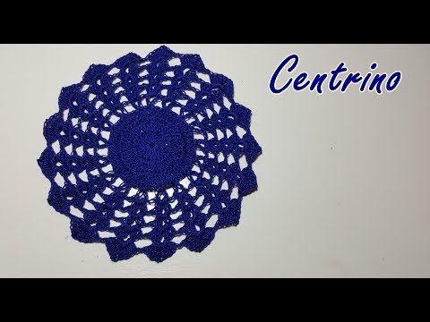 Centrino Blu All Uncinetto Facile E Bello Crochet Easy Tutorial Youtube Uncinetto Facile Uncinetto Bomboniere Matrimonio Fai Da Te Uncinetto