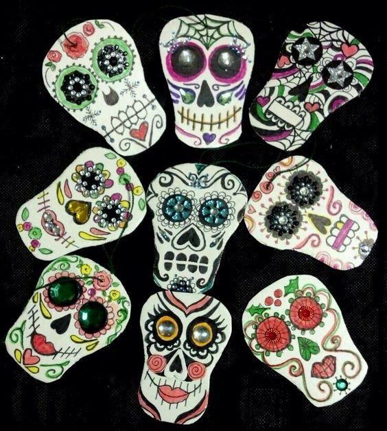 Sugar skulls!