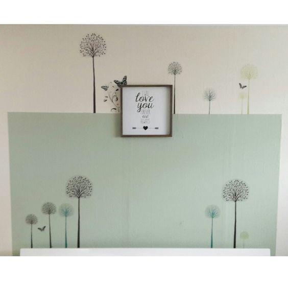 Muurstickers van lidl fleuren de slaapkamer op schilderij van karwei kleurvlak middelpunt - Schilderij slaapkamer meisje ...