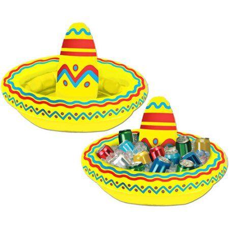 Inflatable Sombrero Cooler - Walmart.com