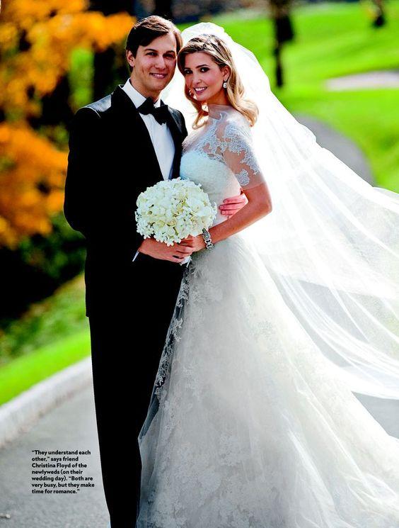 Ivanka Trump | Celebrity Wedding Dresses | Pinterest ...