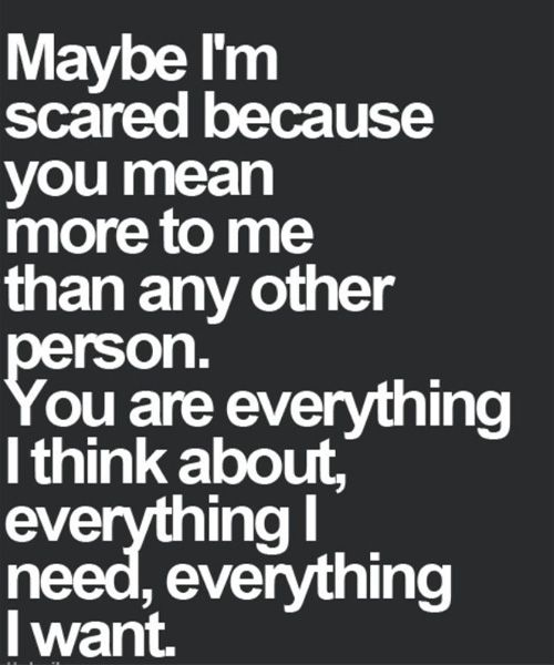Everything I Want-Love Quotes