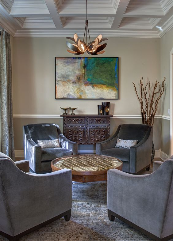 Gray, Chairs And Sophisticated Living Rooms On Pinterest