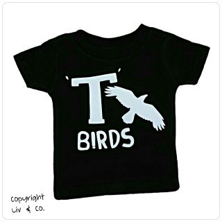 GREASE (the movie) inspired boys baby bodysuit and kids shirt featuring the unforgettable T-Birds! (Pink Ladies
