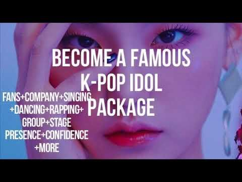 Become A K Pop Idol Ultimate Package Extremely Powerful Subliminal Youtube Subliminal How To Become Kpop Idol