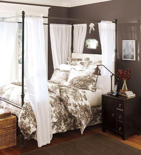 Bedroom Wall Paint Ideas Bedroom Ideas Modern Black And White Chevron Bedroom Ideas Bedroom Ideas For Little Girls: Black White Toile