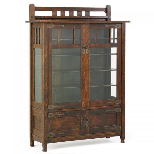 Stickley Brothers China Cabinet Price Estimate 2500 3500 Stickley China Cabinet Mission Style Furniture
