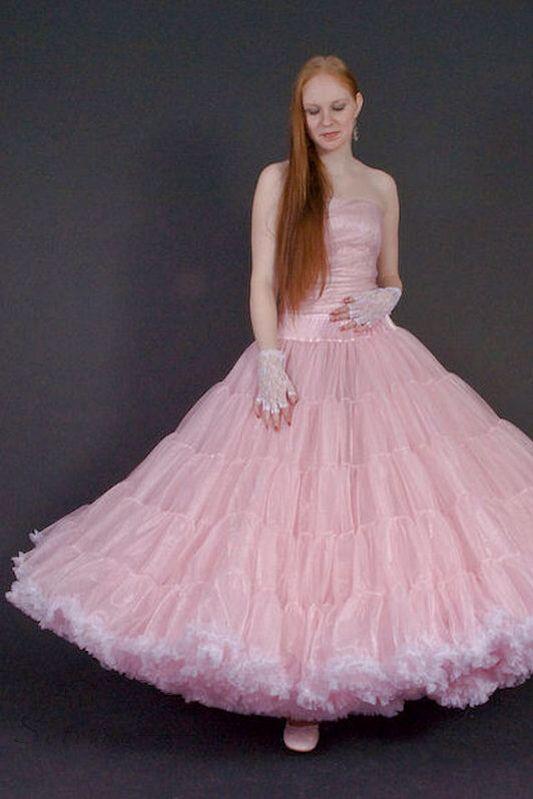 Petticoat aus Tüll