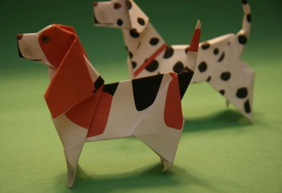 taro's origami dogs: