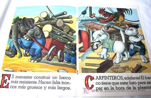 Libros de segunda mano: El astillero de los animales Ed Vasco Americana EVA 1967 cuento Colección Oficios y animales - Foto 2 - 7777042