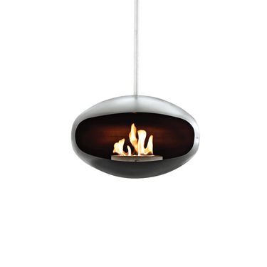 aeris fireplace • federico otero for cocoon fires • via dwell