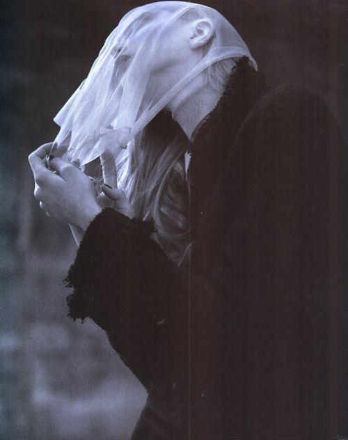 Dark before the storm, Tanya Dziahileva by Ben Hassett for Vogue Nippon, September 2008