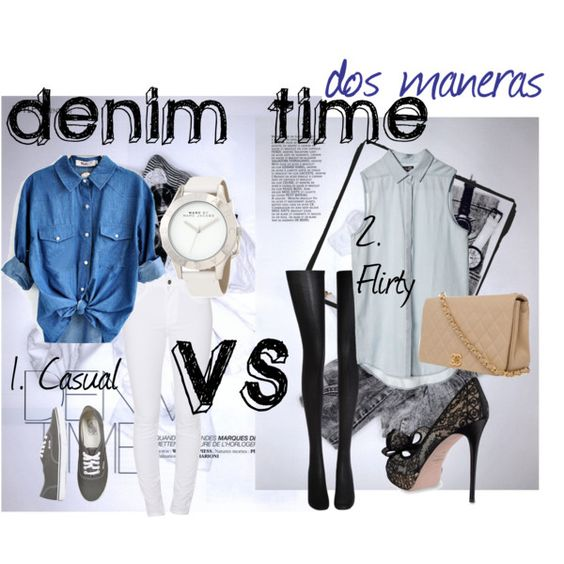 """Denim Time"" by soo-kimberley-noh on Polyvore"