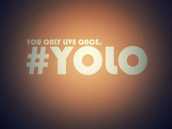 """YOLO is a LIE! Revelation 21:8...""""But as for the cowardly, the faithless, the detestable, as for murderers, the sexually immoral, sorcerers, idolaters, and all liars, their portion will be in the lake that burns with fire and sulfur, which is the second death."""""""