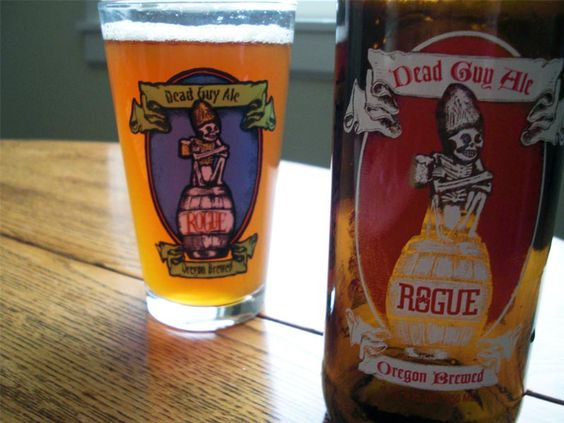 Rogue Dead Guy Ale from Rogue Brewery. Newport, OR