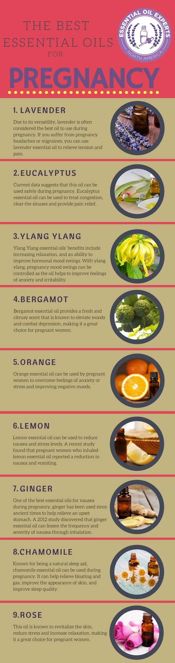 Best Essential Oils for Pregnancy: What Essential Oils to Avoid when Pregnant?