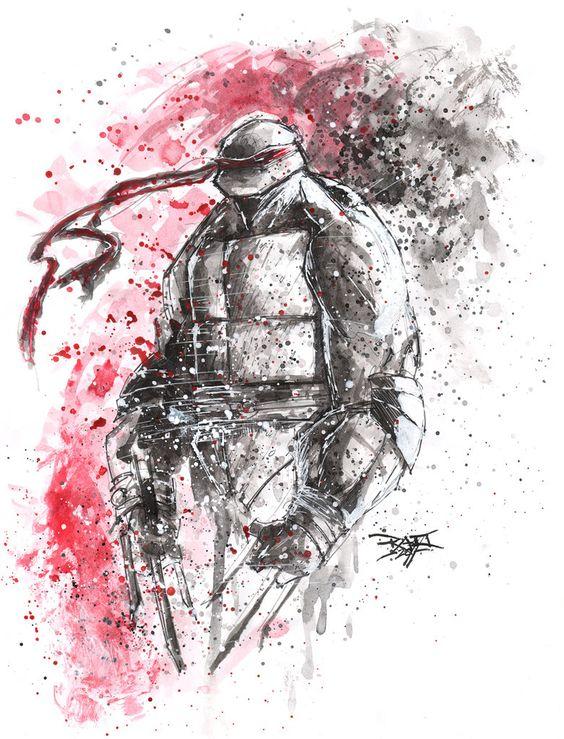 Ahhh Yes, my childhood OBSESSION: Teenage Mutant Ninja Turtles