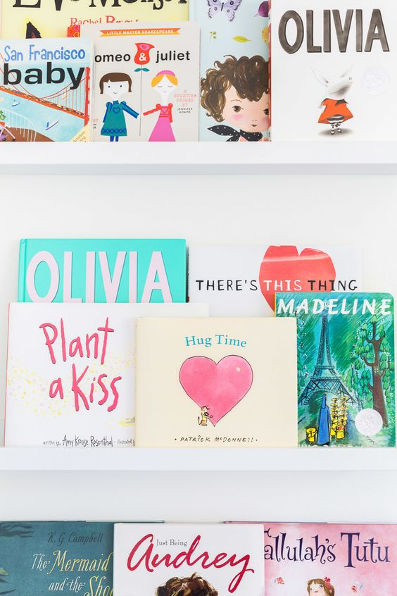 See what books made our children's must read list and start stocking those nursery bookshelves!