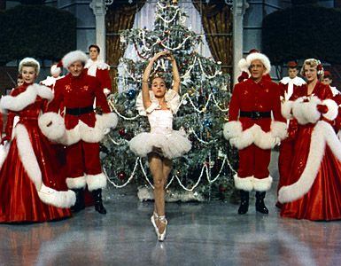 """White Christmas, my favorite movie. I watch it 4-5 times a year! I called it the """"Christmas dancing movie"""" I used to pretend I was that girl :):"""
