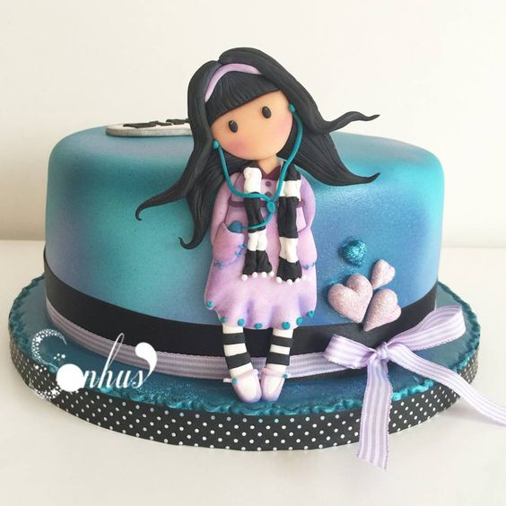 Cake Art By Suzanne : Gorjuss SONHUS - CAKE DESIGN Pinterest