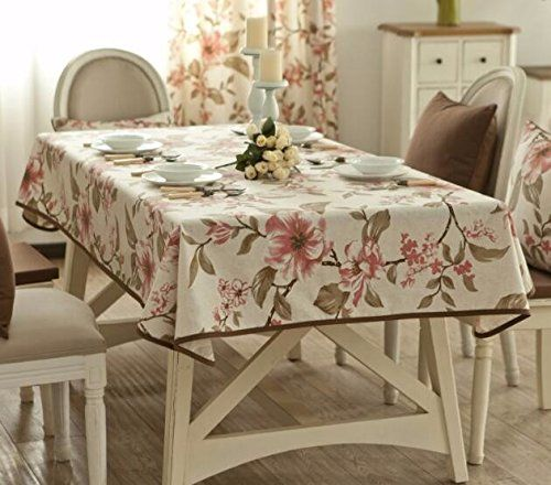 Modern Style Tablecloth Dining Table