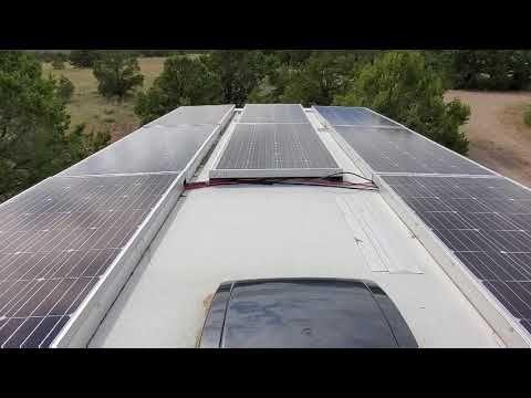 Solar System Install For Mini Split Air Conditioner Youtube Best Solar Panels Solar Solar Panels