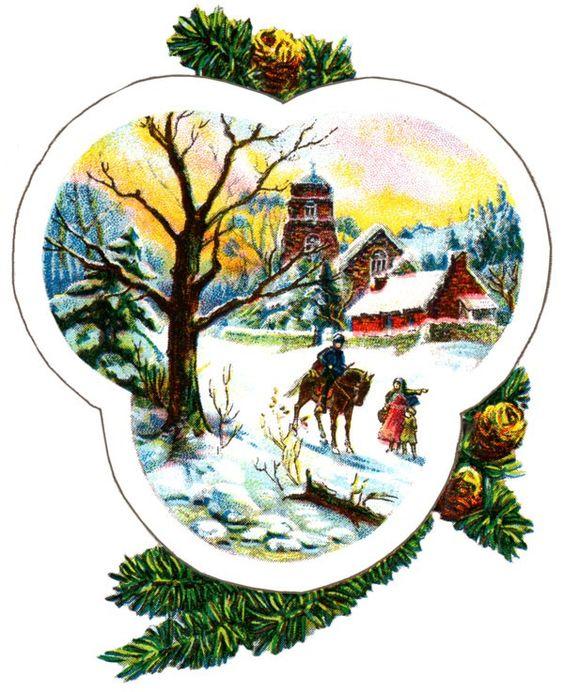 Free Christmas Art :: Image 3: