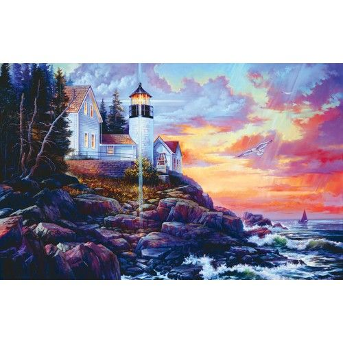 Mary Maxim - Skylight Jigsaw Puzzle - Puzzles