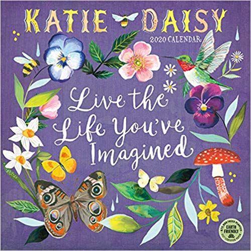 Amazon Com Katie Daisy 2020 Wall Calendar 9781631365188 Katie Daisy Amber Lotus Publishing Books Wall Calendar Free Ebooks Daisy