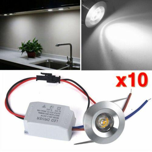 10x 1w Led Spot Lampe Encastre A Led Mini Spot Encastrable Plafonnier Chambre Ebay Recessed Ceiling Lights Recessed Downlights Downlights