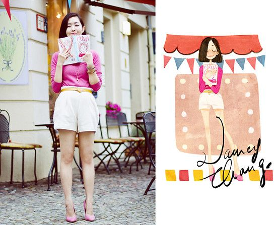 fofo - Books and memories. (by Nancy Zhang) http://lookbook.nu/look/3927120-Books-and-memories