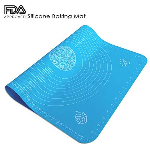 Silicone Pastry Mat With Measurements For Rolling Dough Non Stick Silicone Baking Mats Reusable Macaroon Baking Silicone Baking Baking Mat Silicone Baking Mat