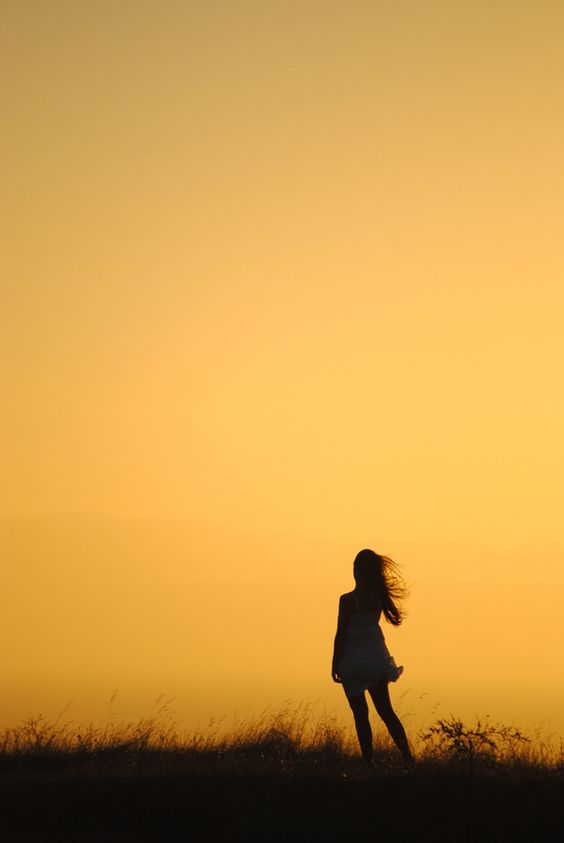 Sunset girl by Laurette van der Merwe, via 500px