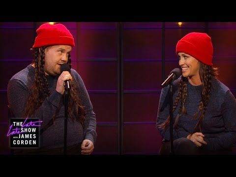 Alanis Morissette Updates Ironic Lyrics During Performance With James Corden | E! Online