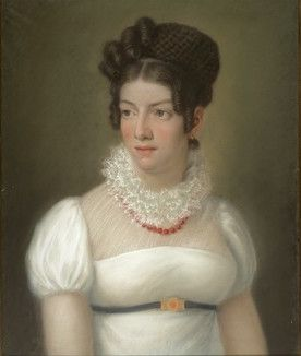 Portrait of a Lady by unknown artist. National Museum of Slovenia: