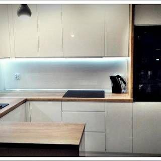Mini Salon Z Aneksem Kuchennym Fusion Projektowanie I Aranzacja Wnetrz Nowoczesna Kuchnia Homify Modular Kitchen Cabinets Modern Kitchen Modern Apartment