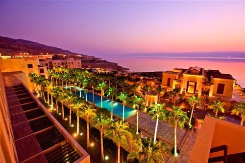 The Kempinski hotel at the Dead Sea